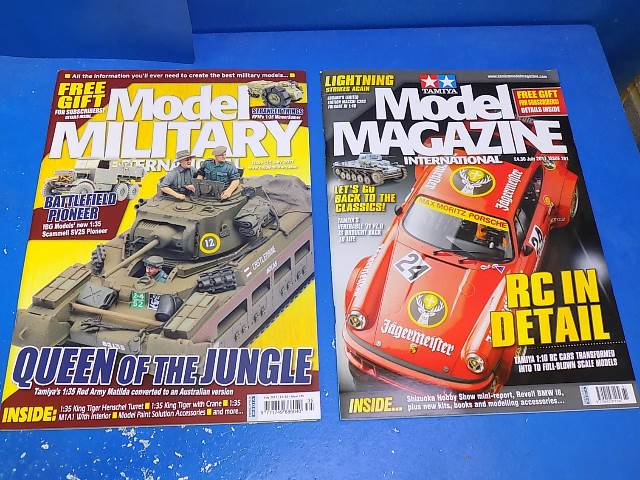 Tamiya Magazines na FREE56 FREE GIFT FOR ORDERS OVER £60 - Model Magazine and Model Military July 2017