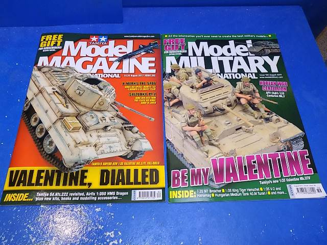 Tamiya Magazines na FREE57 FREE GIFT FOR ORDERS OVER £60 - Model Magazine and Model Military Aug 2017