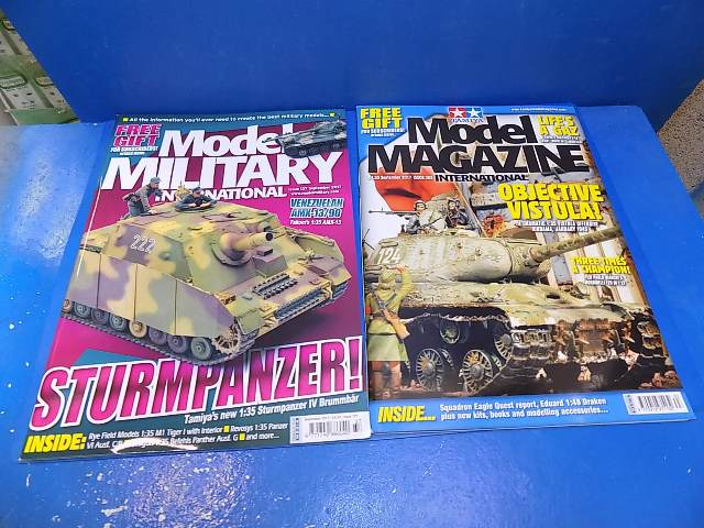 Tamiya Magazines na FREE58 FREE GIFT FOR ORDERS OVER £60 - Model Magazine and Model Military Sep 2017