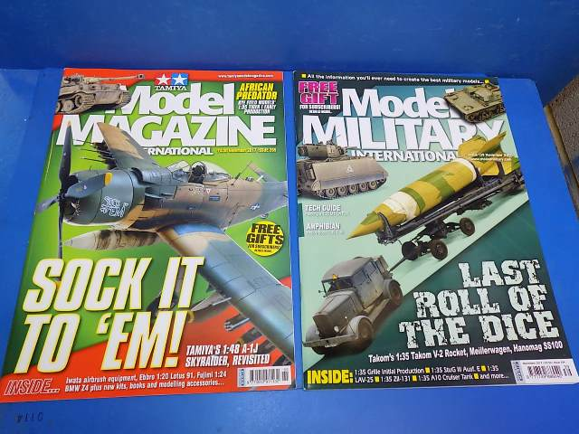 Tamiya Magazines na FREE59 FREE GIFT FOR ORDERS OVER £60 - Model Magazine and Model Military Nov 2017