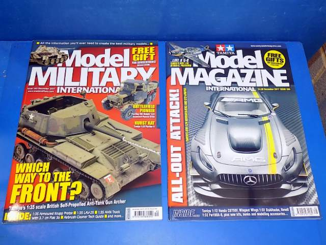 Tamiya Magazines na FREE60 FREE GIFT FOR ORDERS OVER £60 - Model Magazine and Model Military Dec 2017