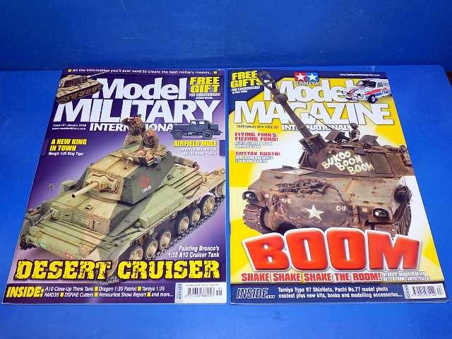 Tamiya Magazines na FREE61 FREE GIFT FOR ORDERS OVER £60 - Model Magazine and Model Military Jan 2018