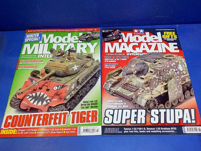 Tamiya Magazines na FREE63 FREE GIFT FOR ORDERS OVER £60 - Model Magazine and Model Military Mar 2018