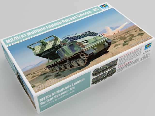 Trumpeter 1/35 01049 M270/A1 US Multiple Launch Rocket System