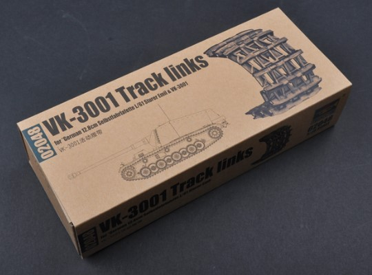 Trumpeter VK-3001 Track Links Scale 1/35 02048