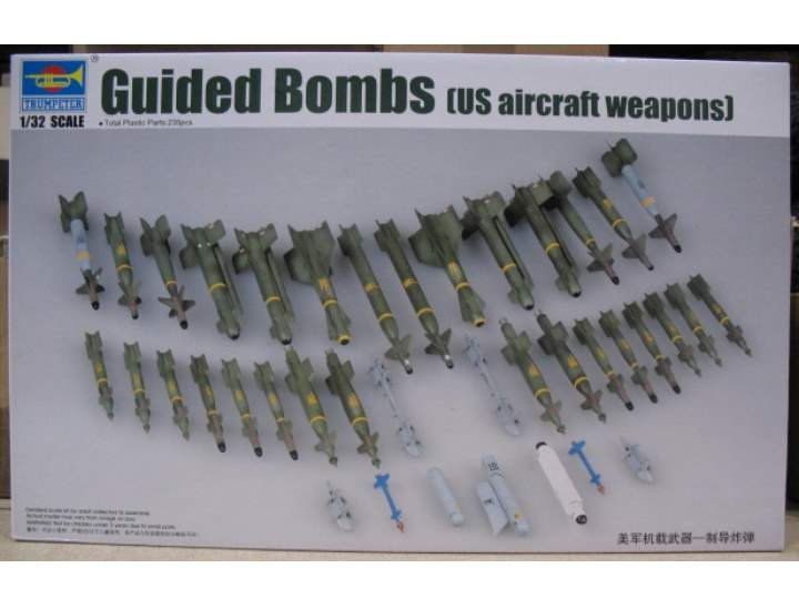 Trumpeter 1/32 03304 US Aircraft Guided Bombs