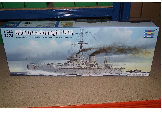 Trumpeter HMS Dreadnought 1907 Scale 1/350 05328