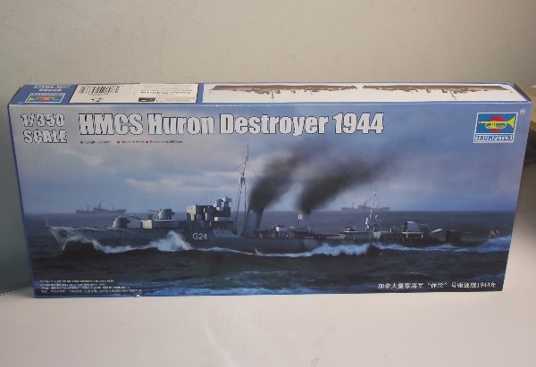 Trumpeter 1/350 05333 HMCS Huron G24 Tribal Class Destroyer
