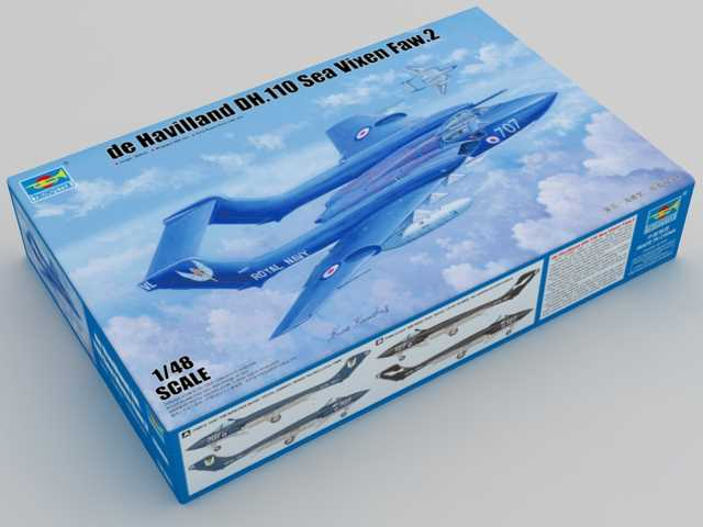 Trumpeter 1/48 05808 De Havilland DH.110 Sea Vixen FAW.2