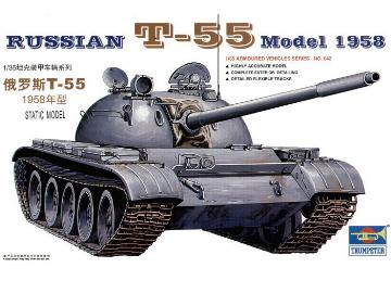 Trumpeter 1/35 Russian T-55 Model 1958 342