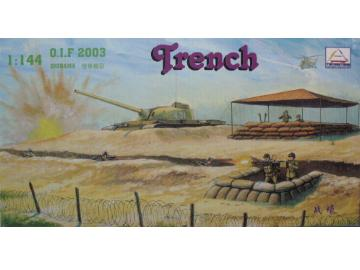 Trumpeter 1/144 82120 Iraq Army Trench Set