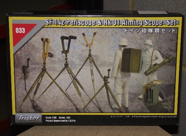 Tristar 1/35 033 Sf14z Periscope and Rk31 Aiming Scope Set