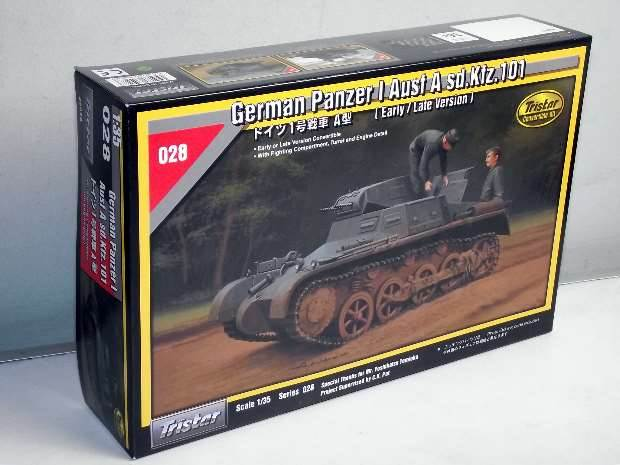 Tristar 1/35 35028 Panzer I Ausf A Sd.kfz.101 (Early/Late)