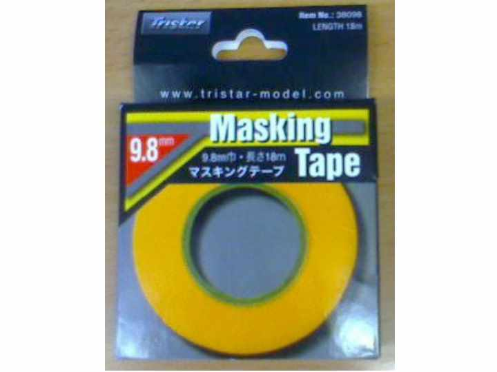 Tristar na 38098 Masking Tape 9.8mm - 18m Length