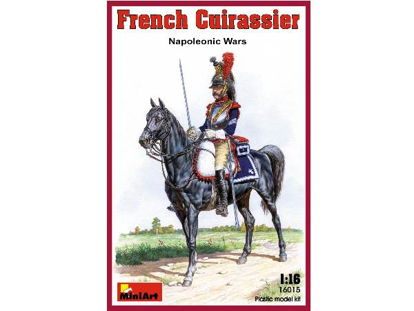 Miniart 1/16 16015 French Cuirassier, Napoleonic Wars