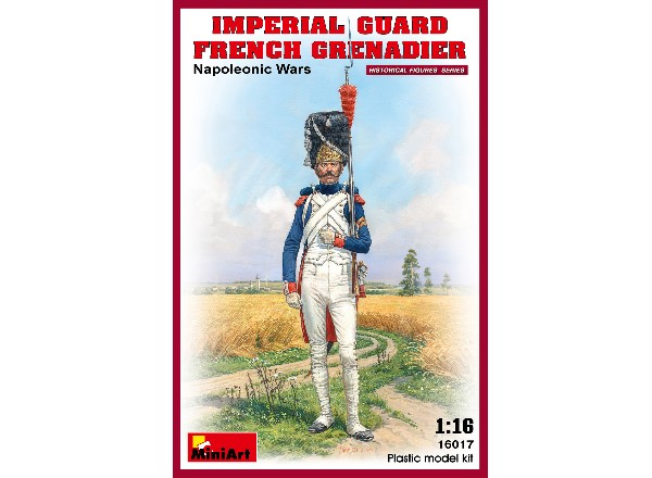 Miniart 1/16 16017 Imperial Guard French Grenadier. Napoleonic Wars