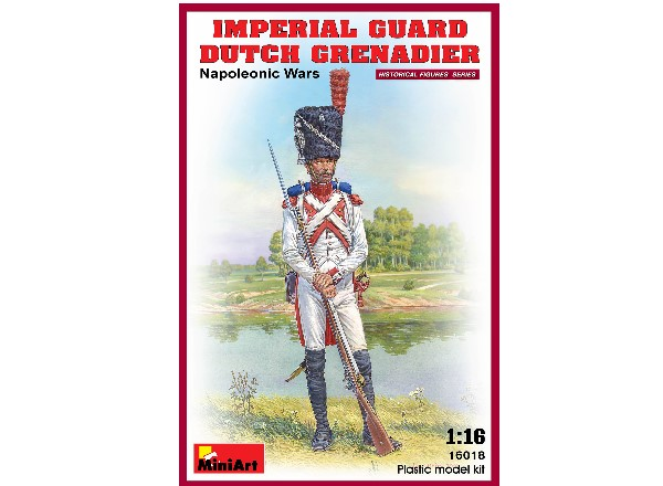 Miniart 1/16 16018 Imperial Guard Dutch Grenadier  Napoleonic Wars