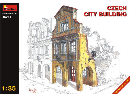 Miniart 1/35 35018 Czech city building