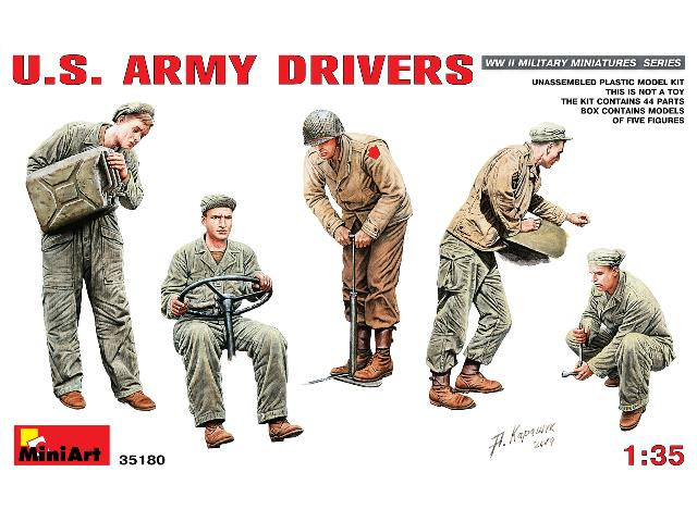 Miniart 1/35 35180 US Army Drivers