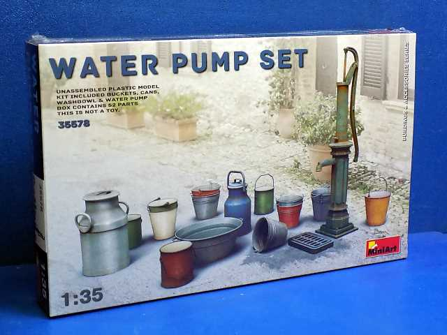 Miniart 1/35 35578 Water Pump Set