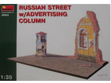 Miniart 1/35 36002 Russian Street with Advertising Column