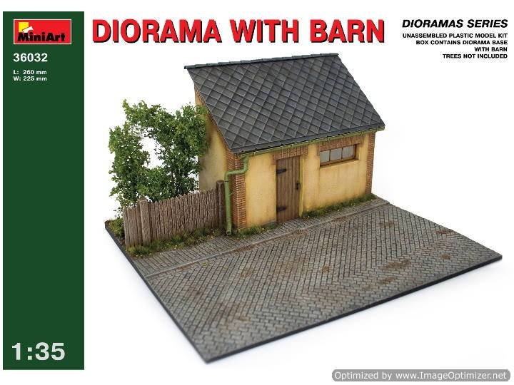 Miniart 1/35 36032 Diorama w/Base