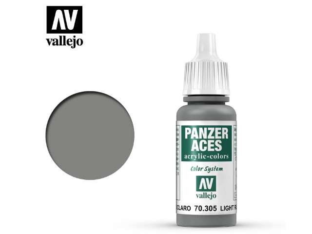 Vallejo 17ml 305 Panzer Aces - 305 Light Rubber