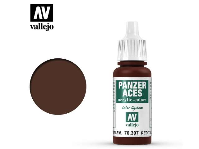 Vallejo 17ml 307 Panzer Aces - 307 Red Tail Light