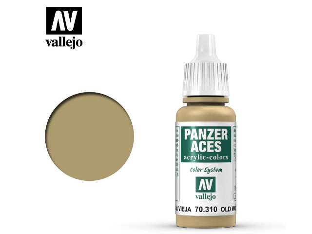 Vallejo 17ml 310 Panzer Aces - 310 Old Wood