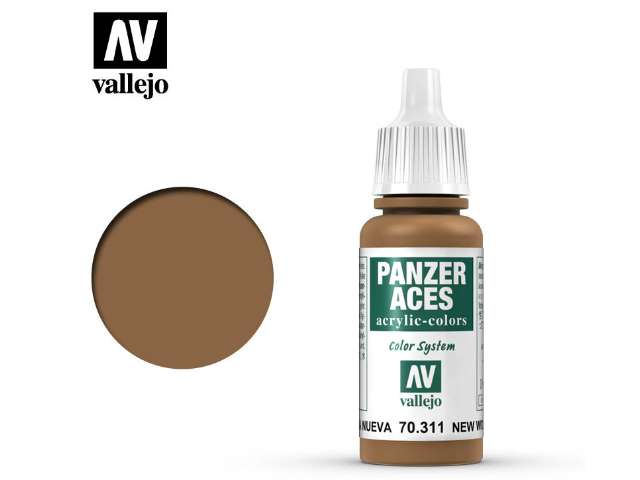 Vallejo 17ml 311 Panzer Aces - 311 New Wood