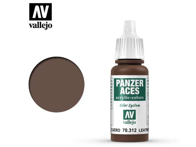 Vallejo 17ml 312 Panzer Aces - 312 Leather Belt