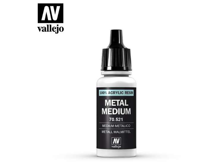 Vallejo 17ml 521 191 Model Color - Metallic Medium 521