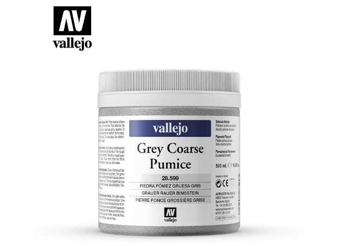 Vallejo 250ml 599 Model Color Tub Pumice Stone 599