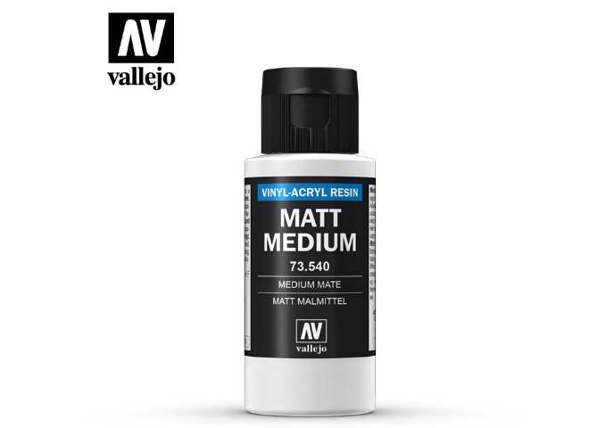 Vallejo 60ml 73540 Matte Medium 60ml