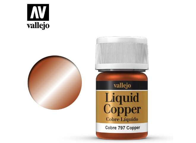 Vallejo 35ml 797 218 Model Color - Metallic Copper
