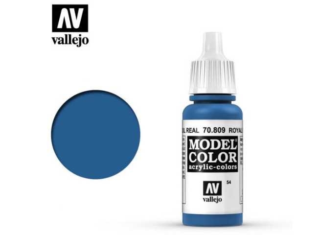 Vallejo 17ml 809 054 Model Color - Royal Blue 809