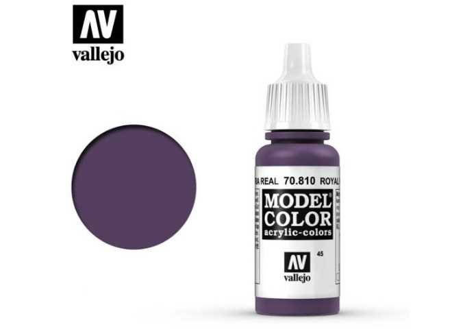 Vallejo 17ml 810 045 Model Color - Royal Purple 810