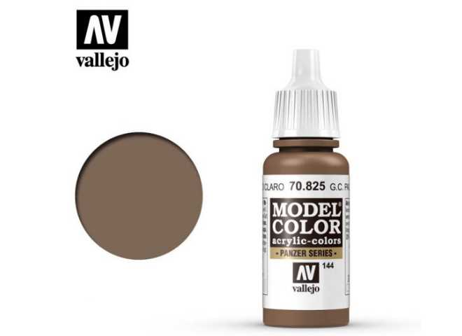 Vallejo 17ml 825 144 Model Color - German Cam Pale brown 825