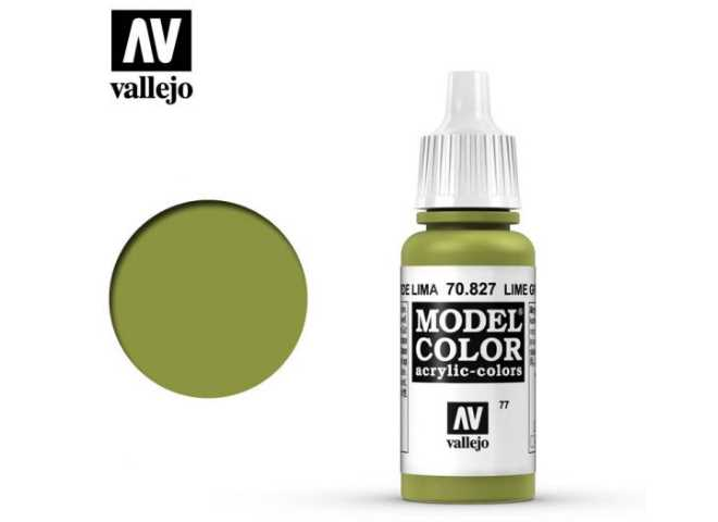 Vallejo 17ml 827 077 Model Color - Lime Green 827