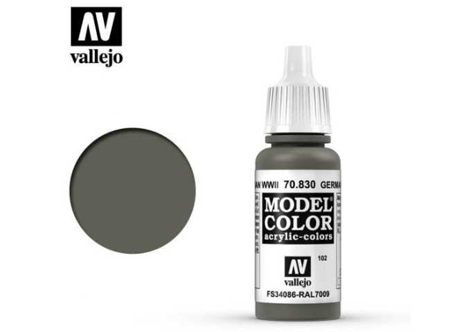 Vallejo 17ml 830 102 Model Color - German Field Grey WWII 830