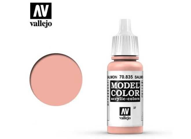 Vallejo 17ml 835 037 Model Color - Salmon Rose 835