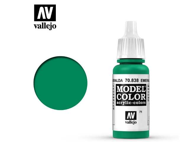 Vallejo 17ml 838 071 Model Color - Emerald 838