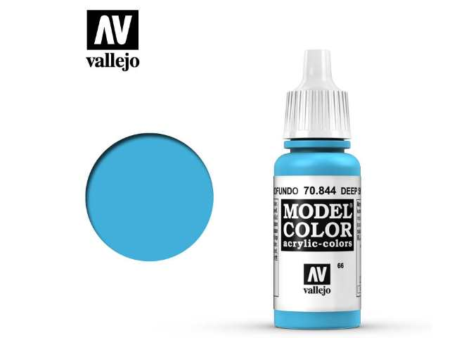 Vallejo 17ml 844 066 Model Color - Deep Sky Blue 844