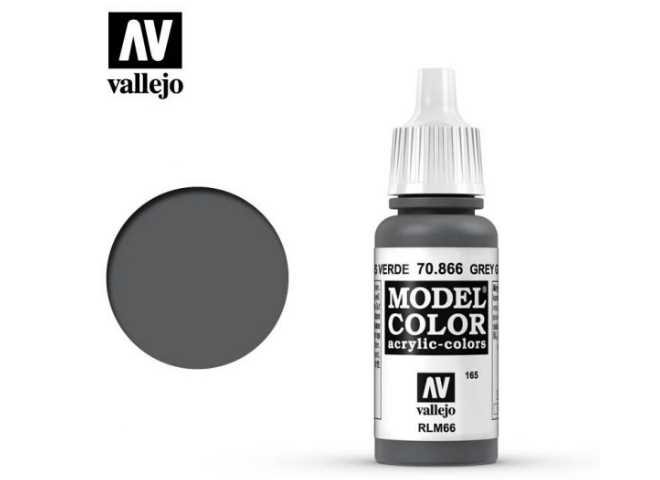 Vallejo 17ml 866 165 Model Color - Grey Green 866