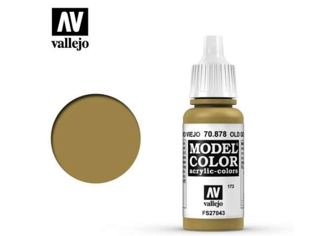 Vallejo 17ml 878 173 Model Color - Old Gold 878