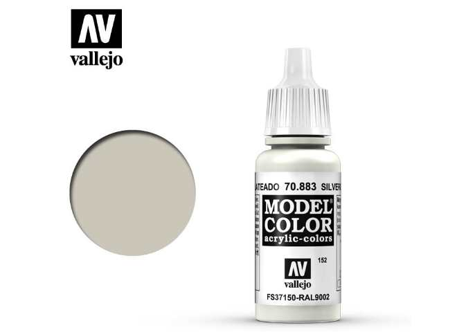 Vallejo 17ml 883 152 Model Color - Silvergrey 883