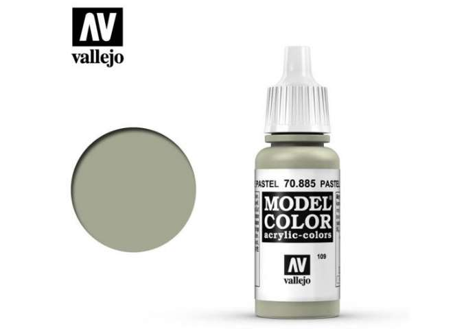 Vallejo 17ml 885 109 Model Color - Pastel Green 885