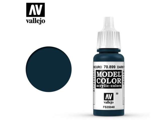 Vallejo 17ml 899 050 Model Color - Dark Prussian Blue 899