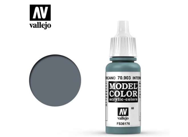 Vallejo 17ml 903 060 Model Color - Intermediate Blue 903