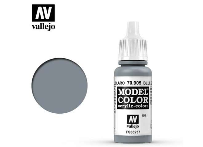 Vallejo 17ml 905 156 Model Color - Bluegrey Pale 905